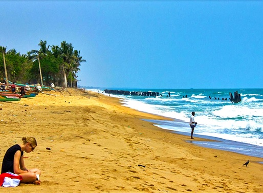 The Astounding Auroville Beach in Pondy