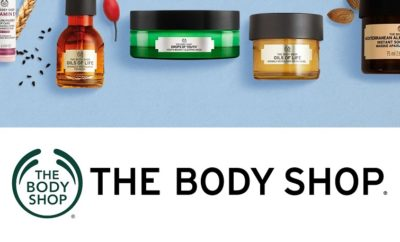 The body shop products available in india