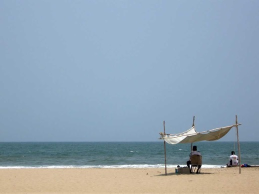 Paradise Beach in Pondicherry
