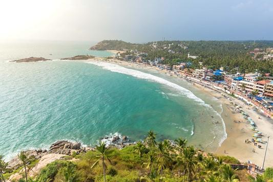 The Splendid Serenity Beach in Pondicherry