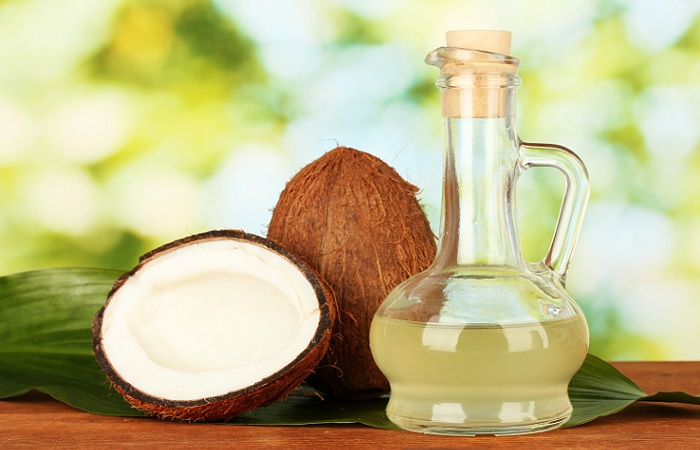coconut oil for glowing skin