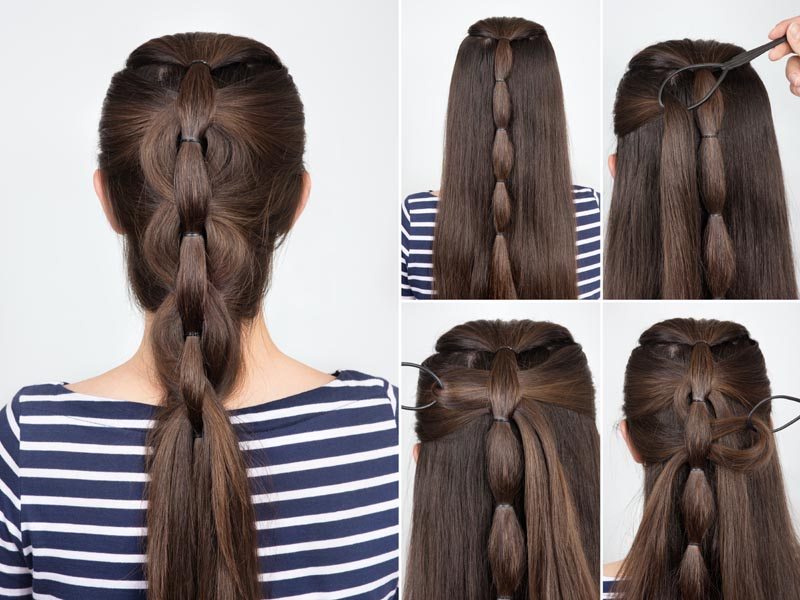 50 Simple And Easy Long Hairstyles For Women To Do At Home