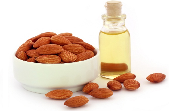 ALMOND OIL FOR PIMPLES
