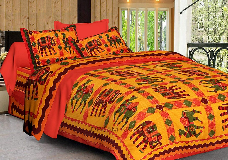 latest embroidery bed sheets