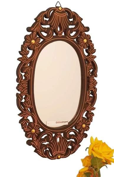 Latest Wooden Mirror Designs