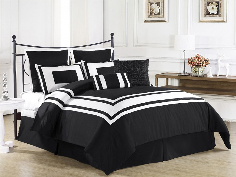Best Black Bed Sheet Designs