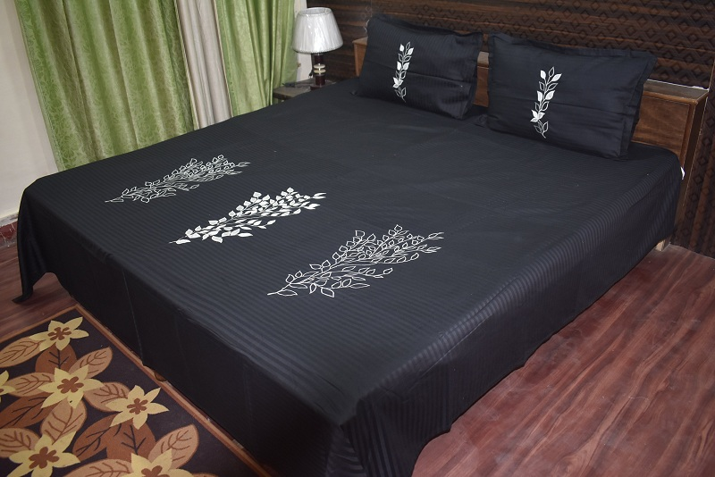 Latest Black Bed Sheet Designs