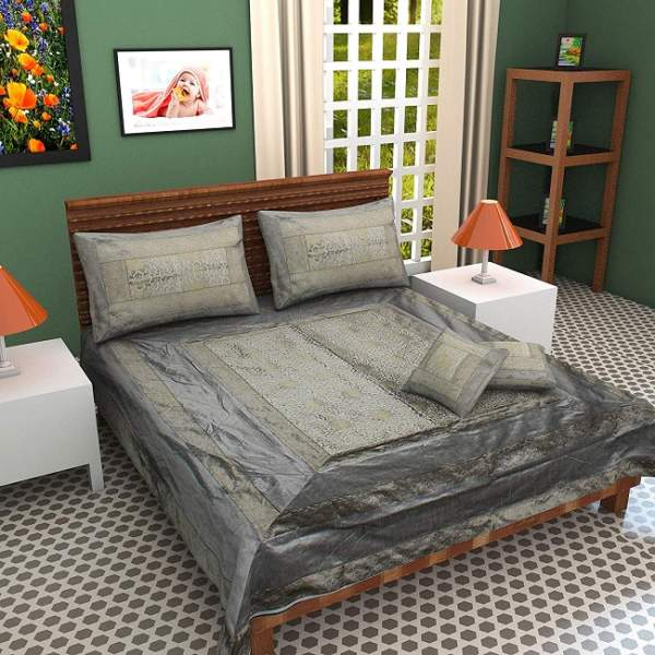 plain silk bed sheets