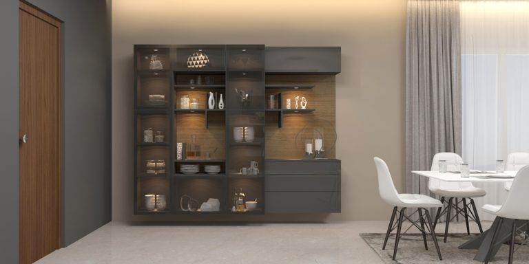Showcase designs for dining room