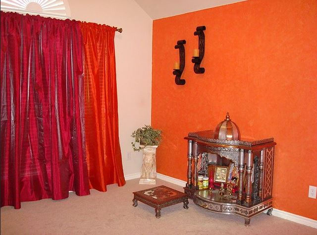 best paint color for pooja room