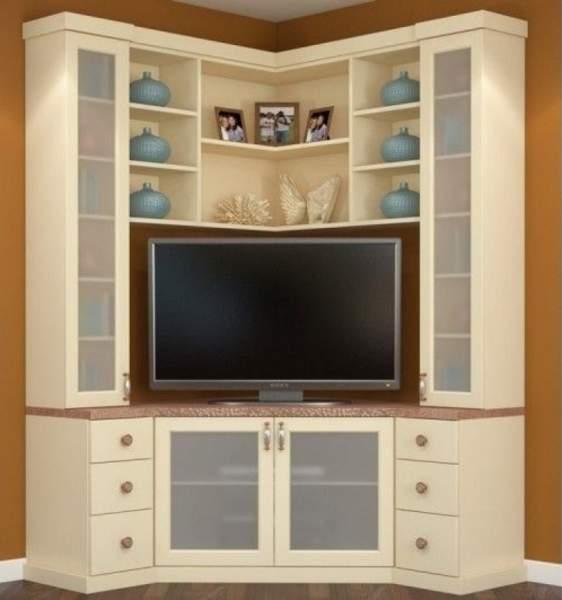 Corner TV Showcase Designs