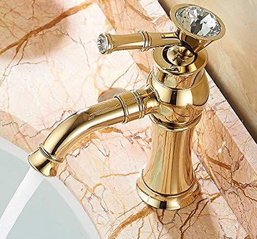 gold bathroom taps