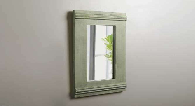 plain rectangular mirror