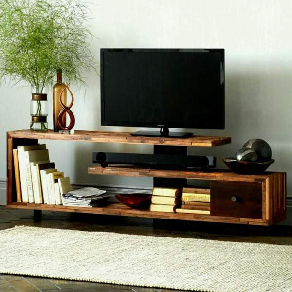 Modern Wooden Showcase Designs