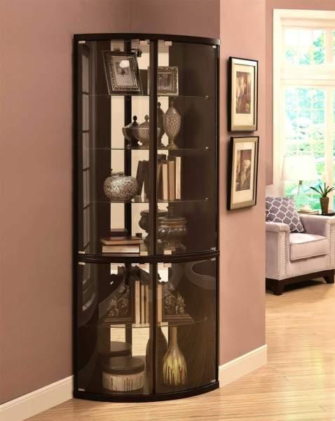 modern Corner Showcase Designs