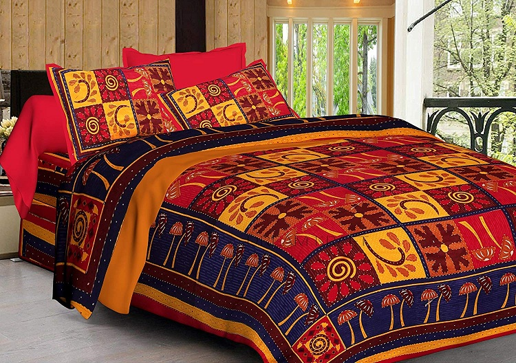 bed sheet design for embroidery