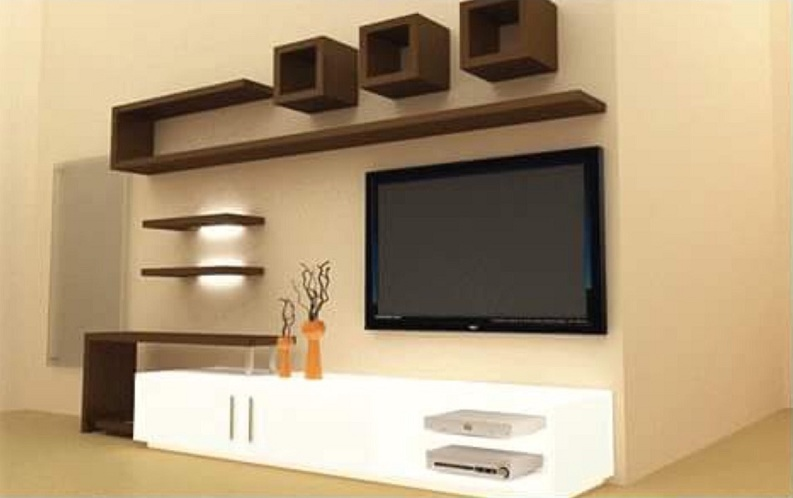 Modern Wall Showcase Designs