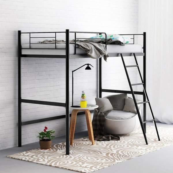 Simple twin beds