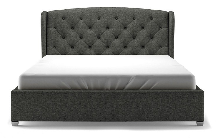 simple upholstered bed designs
