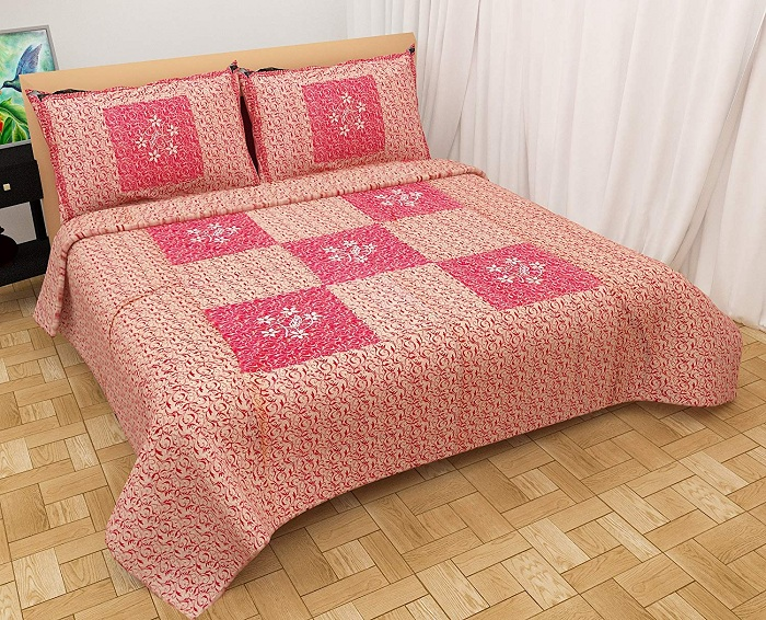 bed sheet embroidery patterns