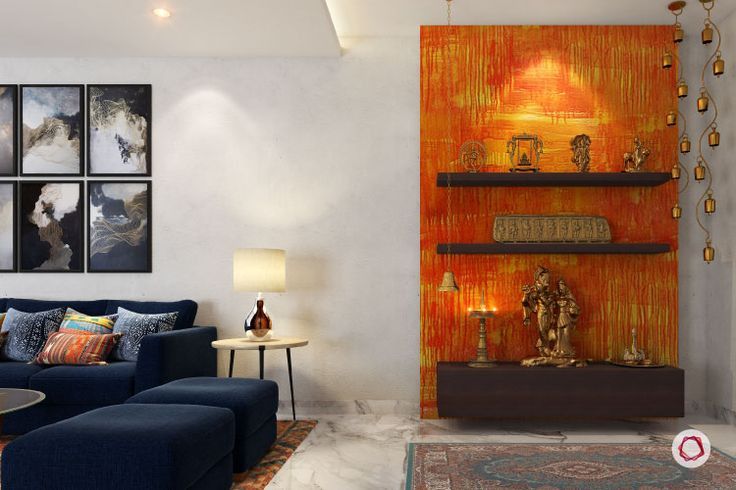 vastu colors for pooja room