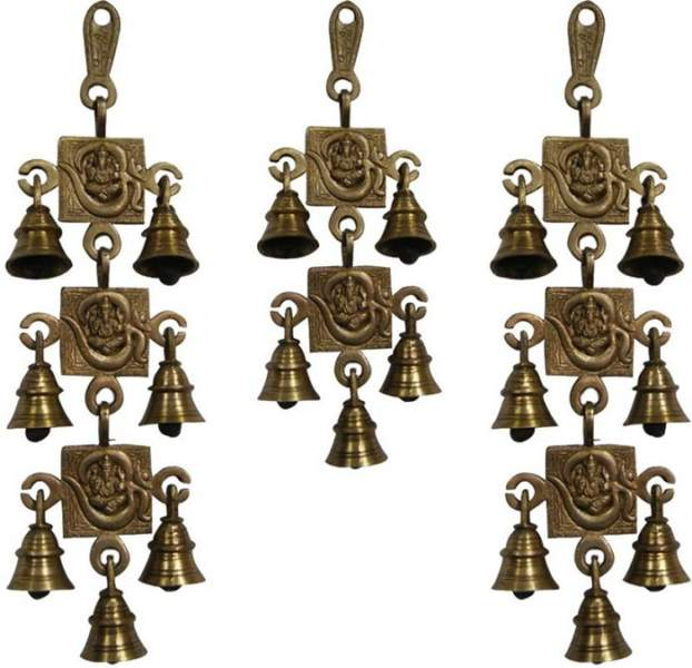 bells in pooja room door