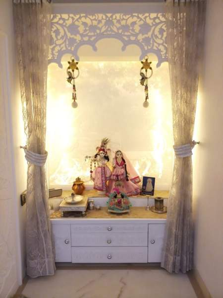 10 Latest Amp Best Pooja Room Colour Ideas With Pictures