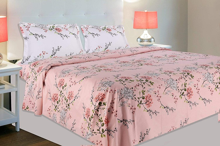 bedsheet double bed