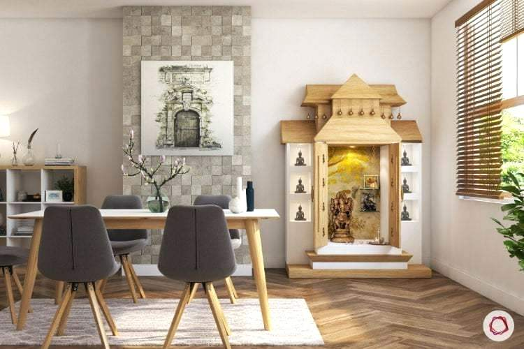 pooja room designs for flats