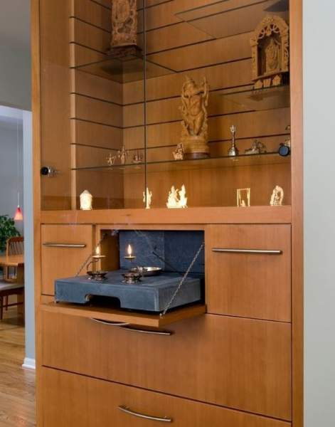 Pooja Room Designs For Flats: 10 Simple & Modern Pooja Room Designs In Apartments