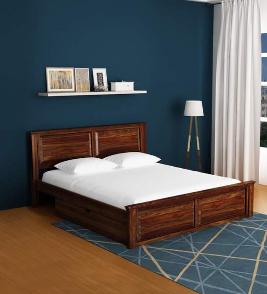 Simple Wooden Bed Designs