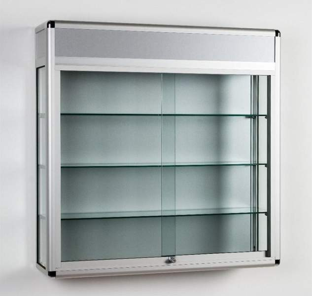 Showcase design with Glass