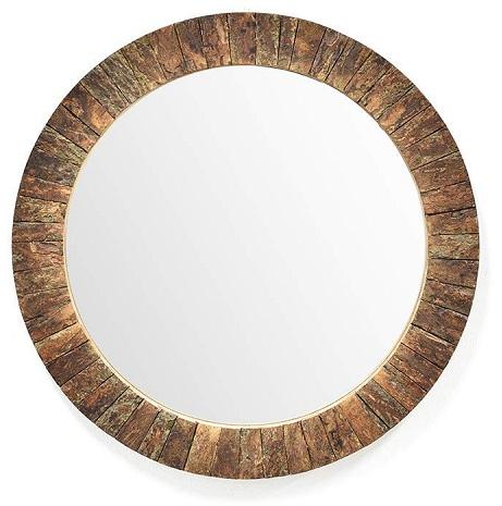 Simple Wooden Mirror Designs