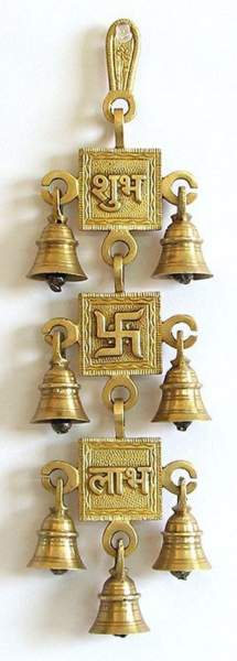bell door for pooja room