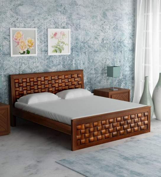 10 Latest Wooden Bed Designs With Pictures In 2021