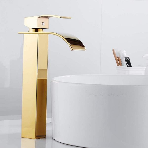 gold basin taps