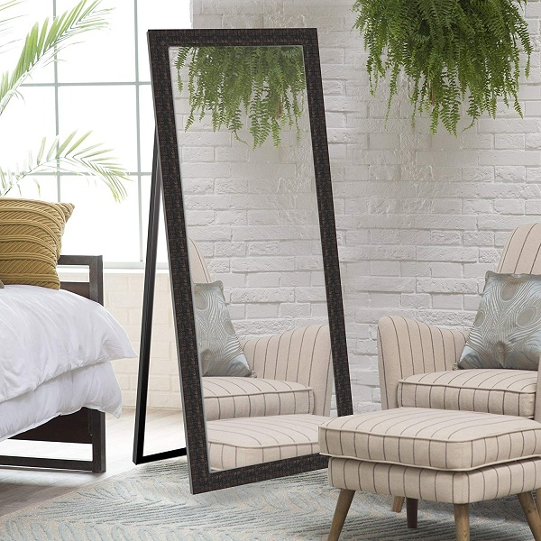 tall stand up mirror