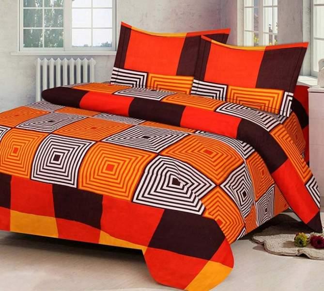 branded double bed sheets