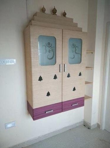 pooja room shelf design