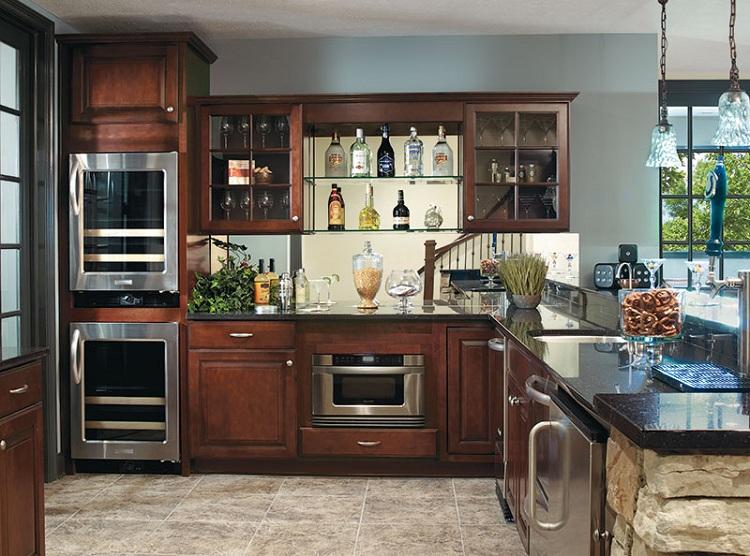 simple Kitchen Showcase Designs