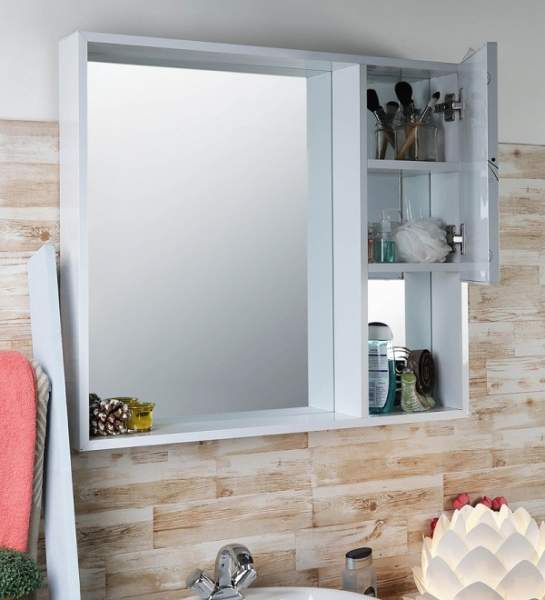 stylish bathroom mirror cabinets