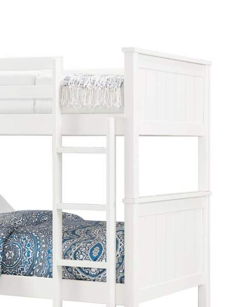 Simple White Bed Designs