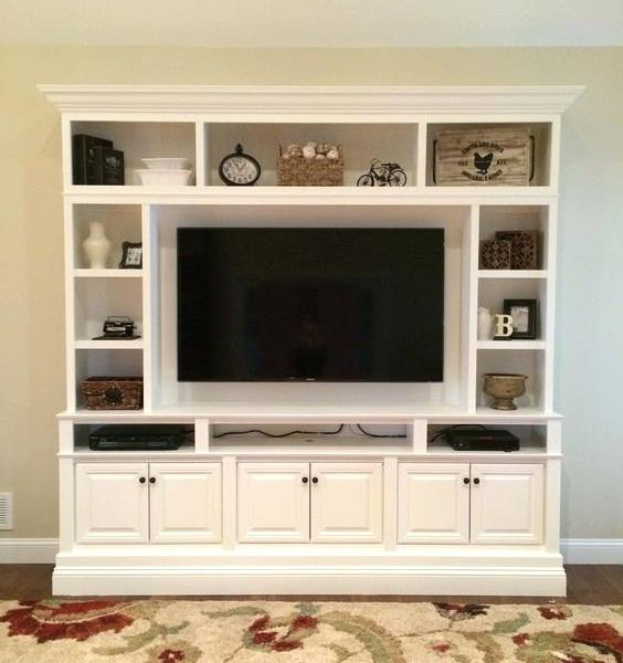 Modern showcase designs for home