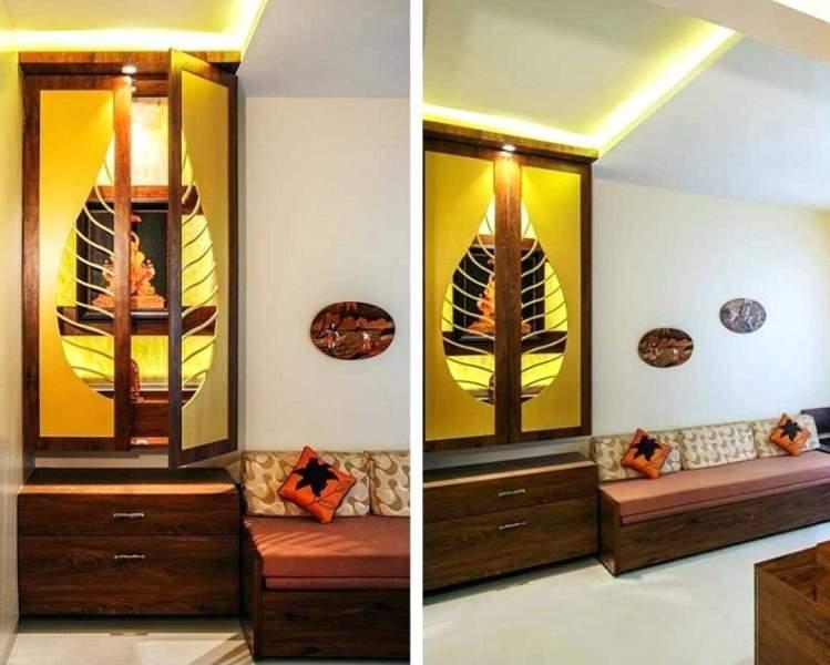 pooja wall shelf