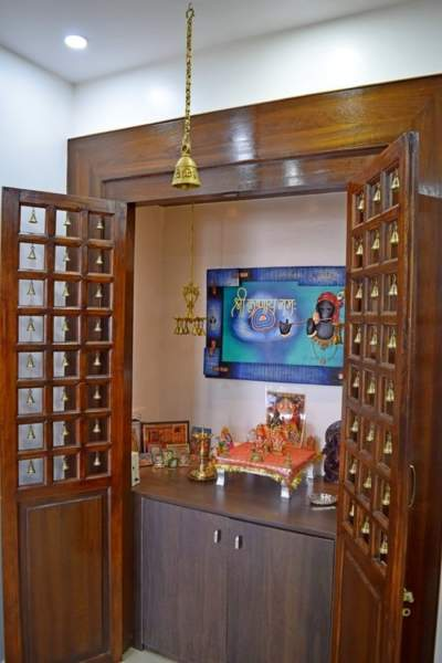 40 Door Design For Mandir Important Ideas: 10 Simple & Latest Pooja Room Designs In Wood
