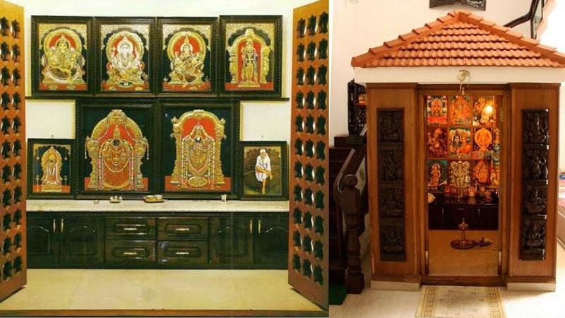 10 Simple & Latest Pooja Room Designs In Wood