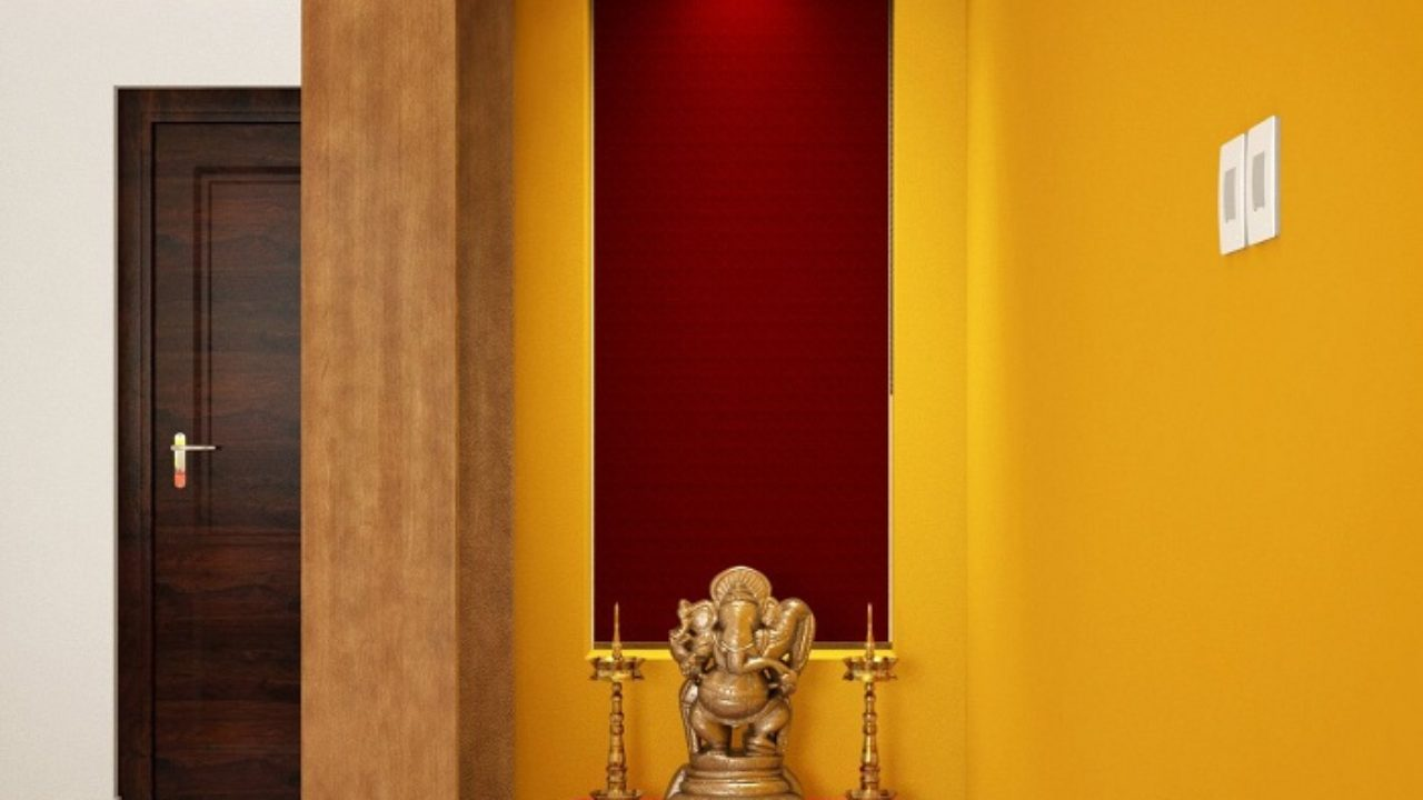 10 Simple Latest Pooja Room Designs In Wood Styles At Life