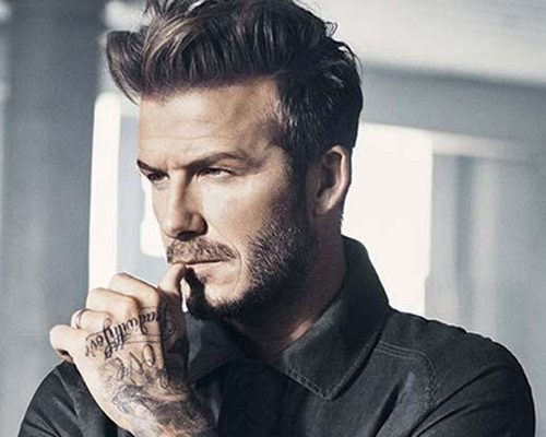 Haircut in Beckham Style