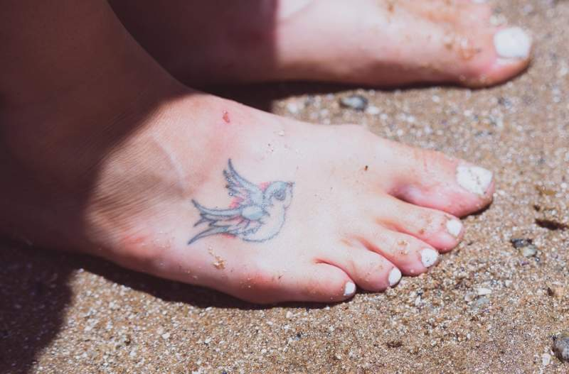 e81ee3580ed43 Tattoos are not an only representation on your idea via your thoughts but  it's also a body art that expresses your personality. Foot tattoos are  considered ...