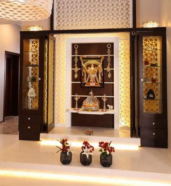 25 Latest Best Pooja Room Designs With Pictures In 2020